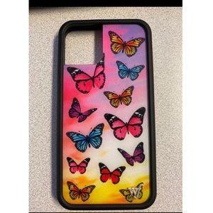 Butterfly Wildflower iPhone 11 pro case
